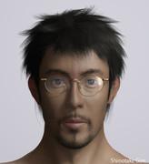 TRICKの上田次郎を3Dで作ってみた