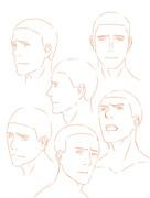 頭部練習 (男)