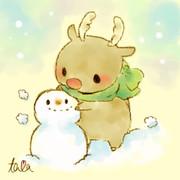 冬:トナカイ