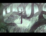 森の奥深くにあるという伝説の武器()