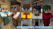 【minecraft】村人たちのスキンを作ってみた【スキン】