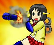 マジンガーNANO「ロケットパーンチ!!」