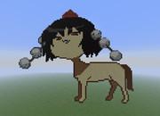 【Minecraft】きめぇ丸ドット絵