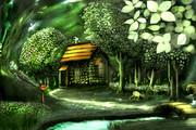 魔理沙の家
