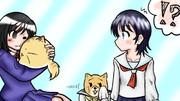 森田さんは無口。2 第24話のエンドカード描いた