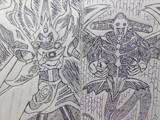 覇魔道vs究極超能力