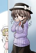 蓮子「これは…メリーのセーター…?」ゴソゴソ