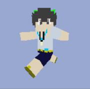 【Minecraft】我那覇響テクスチャプレビュー_私服【im@s】
