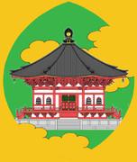 聖徳太子殿の散華〜念佛宗(念仏宗)無量寿寺 佛教之王堂