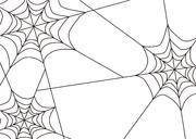 【背景素材237】蜘蛛の巣1