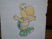 学校で描いたノコノコ