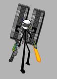 棒人間武装化