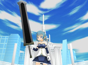 【MMDアクセ】両手剣レクイエムを作ってみた