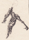 ロボットの兵士さん描いてみた2