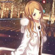 【GIFアニメ】きみと、冬の街で
