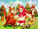 赤頭巾と狼