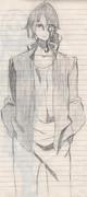 【妖狐×僕SS】イケモメンを描いてみた【模写】