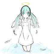 天使降臨。
