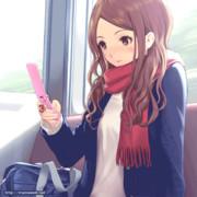【GIFアニメ】通学路で