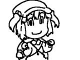 【GIFアニメ】ぐるぐるにとり