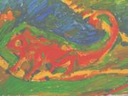 紅いカメレオン