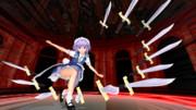 咲夜さんが戦闘モードです