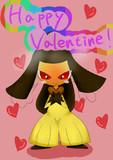 バレンタインだよ!クチートちゃん!