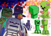【Minecraft】リア充爆発しろ【クリーパー】