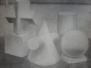 石膏デッサン