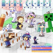 Minecraft~ヴェネツィア再現プロジェクト応援イラスト