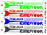 ドリクリコンベンション イベントロゴ 4色 その2