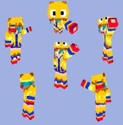 【Minecraft】ミンゴ:衣装【トリックスター】
