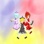 東方集合絵Project 「プリズムリバー三姉妹」