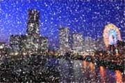横浜の夜景-ゴッホ風-