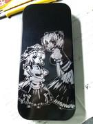 【筆箱】 四季映姫&小野塚小町を彫ってみたよ~