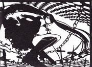[切り絵]BRS ブラック・ロック・シューター
