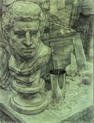 石膏と静物2
