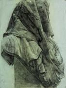 布と石膏(予備校時代の課題作品)