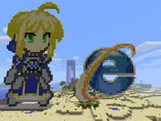【Minecraft】 Internet Explorer  セイバー作ってみた