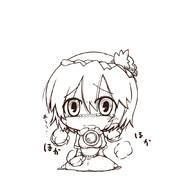 神奈子お漏らし(線画)