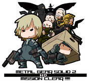 MGS2(HDver)ノーマルクリアした記念