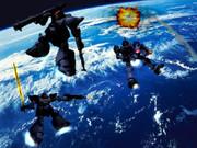 地球軌道戦 ツィマッドの意地を見よ!!
