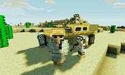 【Minecraft】 砂漠パトロール