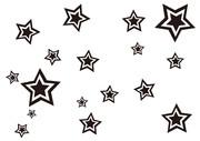 【背景素材244】星16