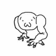 【gif】ショボーン【ギャアアアver】