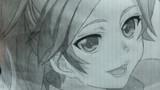 シャーペン2本で篠宮綾瀬を描いてみた