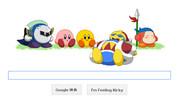 星のカービィ生誕20周年版 Google