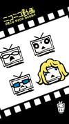 携帯用壁紙3「ニコニコテレビちゃんQ」★フルワイドVGA液晶(480x864ドット)用