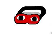 沖田のアイマスク