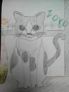 猫描いてみた!